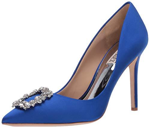 Badgley Mischka Women's Cher Pump, Electric Blue, 8.5 M US
