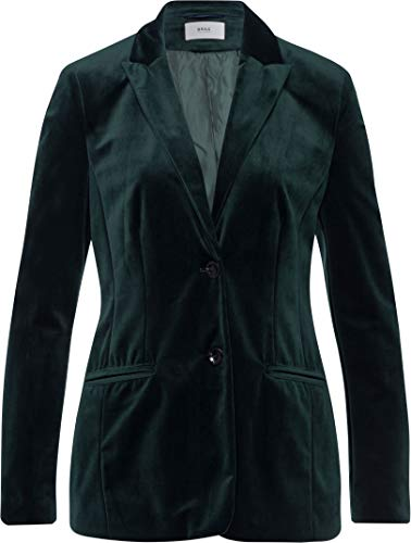 BRAX Damen Style Lima Anzugjacke, DEEP Green, 40