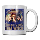 tazza di caffè Best Gift I Just Took A DNA Test Turns Out I'm 100% That Witch Hocus Pocus Coffee Mug Ceramic Cup 11 Oz Gift For Men Women Who Love Mugs