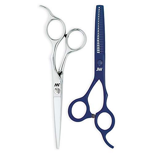 JW Professional Shears Razor Edge Series - Hair Cutting Scissors & Thinning Shear Set