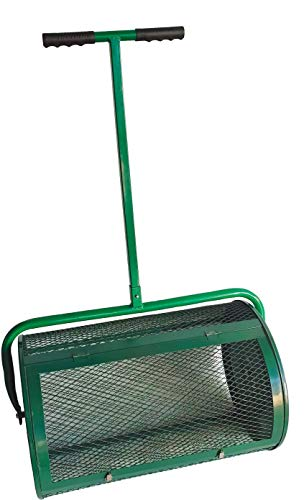 Lowest Price! Landzie Compost & Peat Moss Spreader