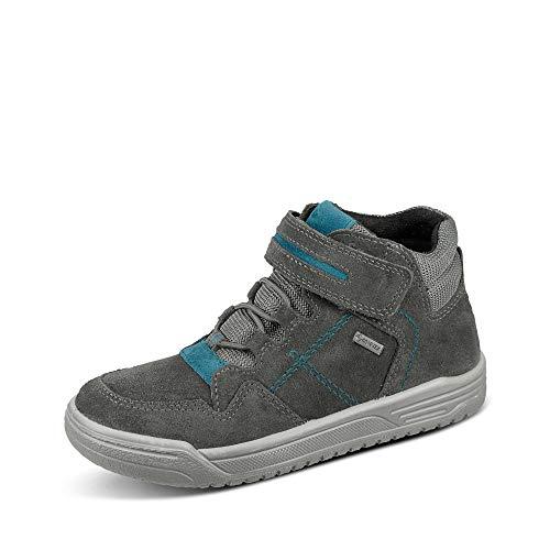 Superfit Jungen Earth Sneaker, Grau Blau 2000, 33 EU Weit