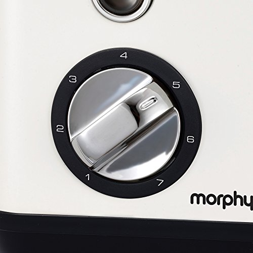 Morphy Richards 222012EE Accents refresh Grille-pain, 850 W, White