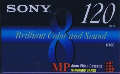 Check Out This Sony 8mm Video Cassette Tapes 120 Minute (4-pack)