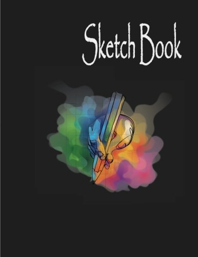 Sketchbook: Sketch Pad for Drawing and Doodling : Large Blank Page , 8.5' x 11' Sketchbook Journal White Paper (Blank Art Books)