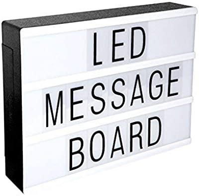 Cine Caja de Luz Letras, LED Cinema Light letras Box, A4 ...