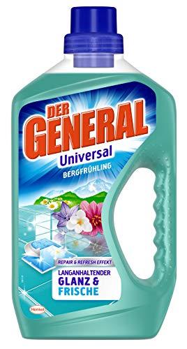 Der General Universal Bergfrühling, Allzweckreiniger, 1 x 750 ml, Universalreiniger für hygienische Sauberkeit