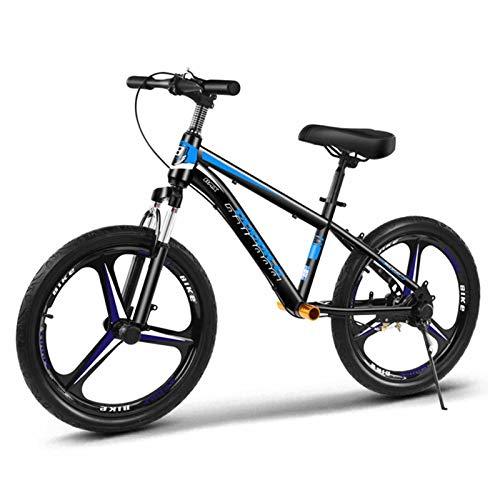 Bicicleta Sin Pedales Bici Niños Altos Bicicleta De Entrenamiento con Freno De Mano Y Reposapiés, 16 18 20 Pulgadas Ruedas Grandes Bicicleta Sin Pedales para Niños Y Niñas Adultos Y Mayores De 8 Años