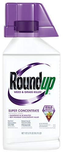 Roundup Weed & Grass Killer Super Concentrate, 32.2 Oz.