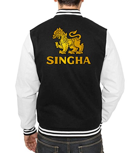 Certified Freak Singha Beer College Vest Black XXL