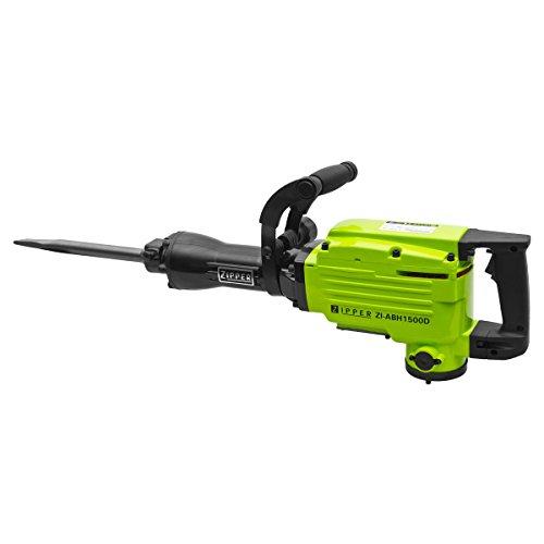 Zipper ZI-ABH1500D Sechskantschaft-Abbruchhammer 1500W 45 J inkl. Koffer, mit Zubehör