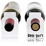 Étiquettes Vierges Réutilisables Effaçables pour Bouteilles de Vin...