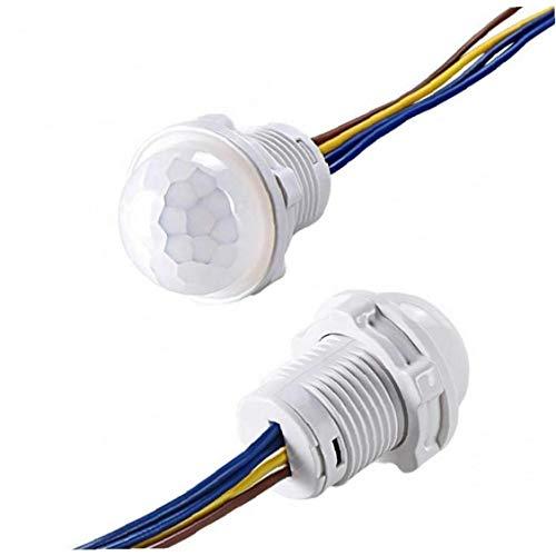 Angoter Mini Closet PIR-Sensor-Schalter 110V 220V PIR Infrarot-Bewegungs-Sensor-Erkennung automatischer Sensor-Lichtschalter