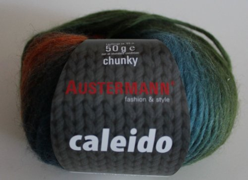 Caleido Austermann Winterwolle Baby-Alpaka-Schurwoll-Mischung 50 g Farbe 03