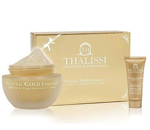 NATURAL GOLD ESSENCE Saffron Argan 50 ml & Travel Size 20 ml