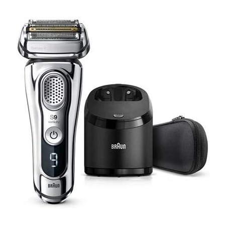 【除菌洗浄器付き】 ブラウン シリーズ9 メンズ電気シェーバー 5カットシステム 洗浄器付 水洗い/お風呂剃り可 9394cc
