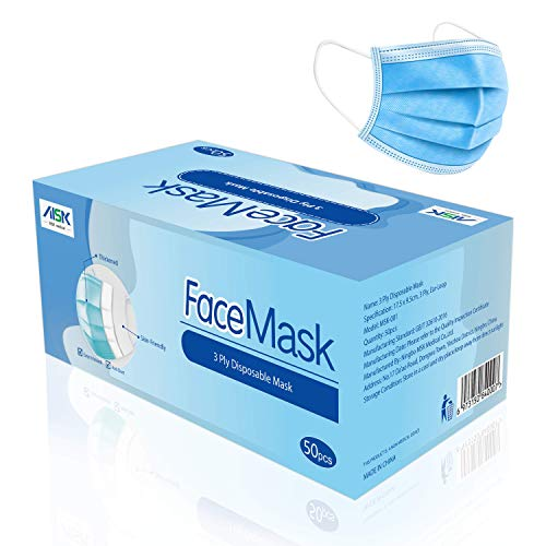 MSK 3-Layer General Purpose Non-Medical Masks (Pack of 50 Pieces)