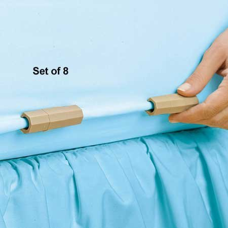 Sheet Clips Bed Set of 8