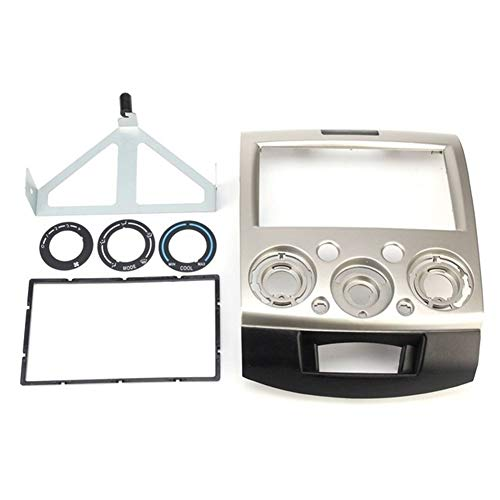 HIGHER MEN Car Accessories Parts 2 Din Car Radio Fascia marco del panel estéreo de CD DVD de la rociada de la cubierta de audio Audio de Montaje for Ford Everest guardabosques for Mazda BT50 BT50 06-1