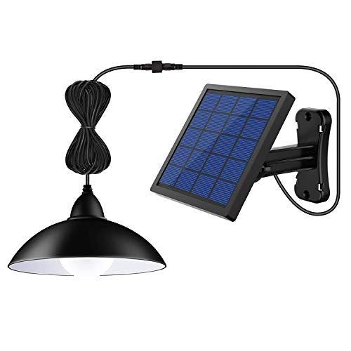 Solar Lights Outdoor ,LOZAYI IP65 Waterproof Solar Pendant...