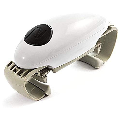 Gnohnay Ouvre-Bocal Automatique One Touch Ajustable Easy Can Tin Open Tool, Bouteille Décapsuleur Accessoires de Cuisine Polyvalents