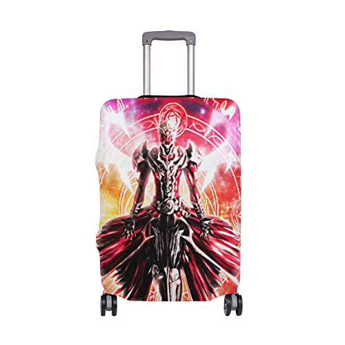 IUBBKI Travel Luggage Cover Kamen Rider Cartoon Suitcase Protector Fits XL Washable Baggage Covers