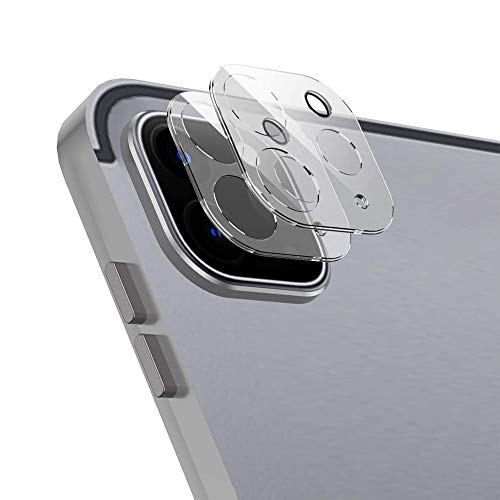 of ulak glass screen protectors ULAK 2PCS Camera Lens Screen Protector for iPad Pro 11 inch 2020, Anti-Scratch Fingerprint 9H Tempered Glass Camera Lens Protector, HD Clear
