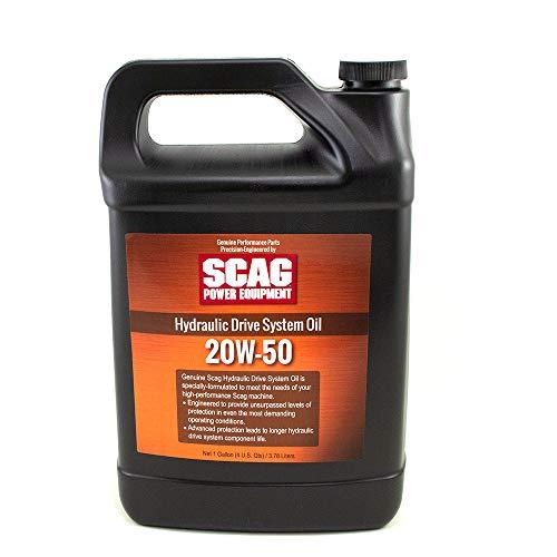 SCAG Genuine OEM 20W-50 Hydro System Hydraulic Oil - 1 GALLON 486254