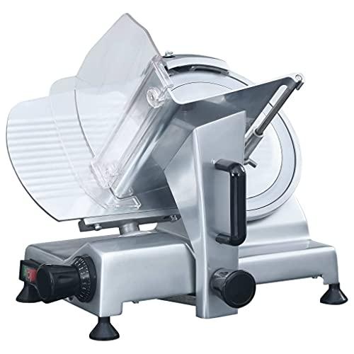 vidaXL Profi Allesschneider Gastro Aufschnittmaschine Wurstschneidemaschine Brotschneidermaschine Fleischschneider Wurstschneider 300mm