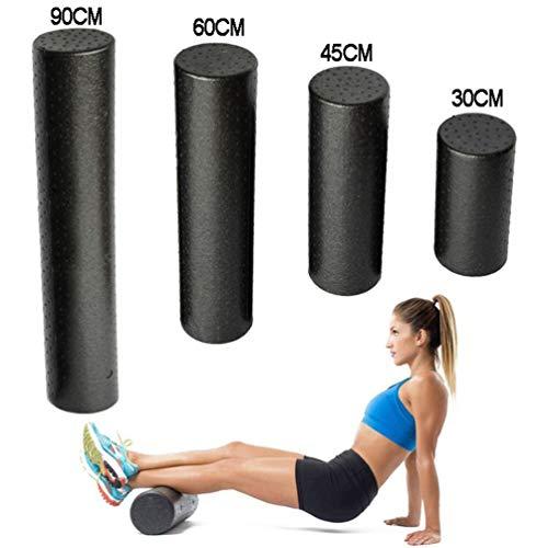INMPC Foam Roller para Pilates/Yoga, EPP Alta Dureza, Foam Roll para Fitness de Piernas/Pies/Cuello/Volver, Rulo Masaje Muscular, Rodillo de Espuma para Masajes de Tejido Profundo