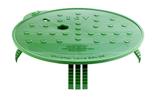 GroundToppers LID Valve Box 10' UNIVSL MfrPartNo UNI10, Green