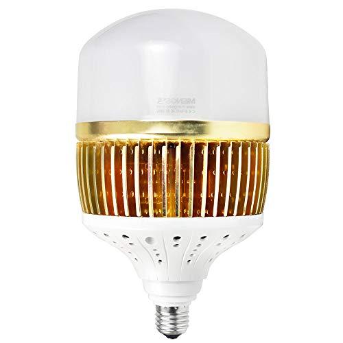 MENGS CL-Q100W Lampadine a LED E27 100W LED industria lampada bianco neutro 4000K, 13000lm, AC 85-265V, Luce a LED in alluminio pin + PC copertura