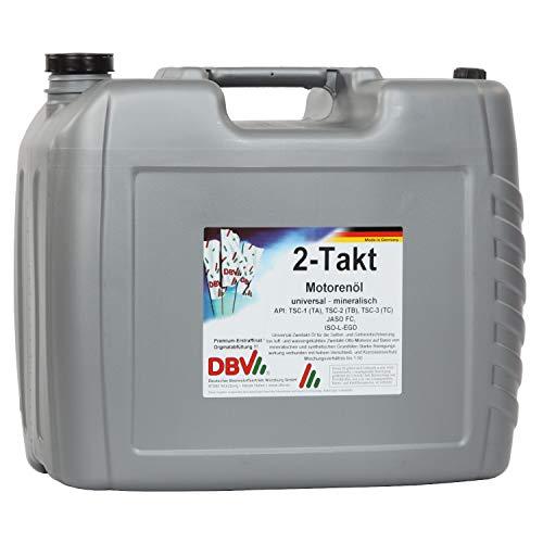 DBV 2-Takt-Öl (mineralisch) 20-Liter-Kanister