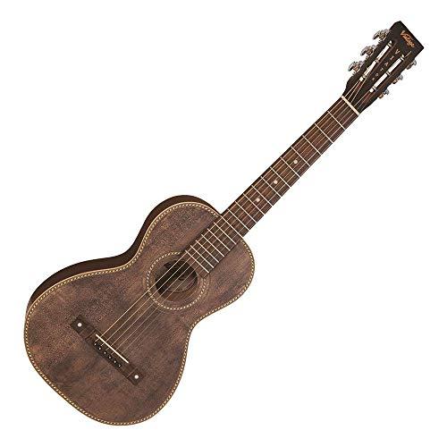 Vintage Paul Brett Signature Viator - Guitarra electroacústica de viaje, diseño antiguo