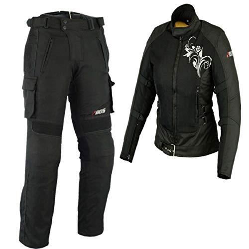Motorradkombi Damen, Textil Zweiteiler Kombi (XS)