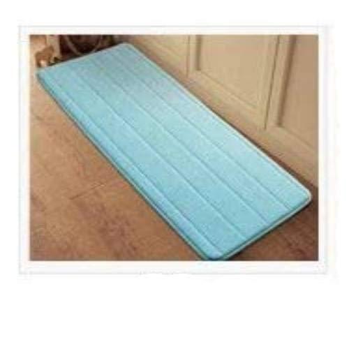 Gather together Alfombra de baño absorbente de terciopelo de 400 mm x 1200 mm, de espuma viscoelástica de rebote lento, alfombra de baño, alfombra de microfibra, 40 x 120 cm