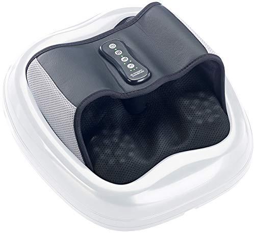 newgen medicals Massagegerät: Shiatsu-Fußmassagegerät, Wärme- & Akupunkturfunktion, 3D-Luftmassage (Fussmassagegeraete)