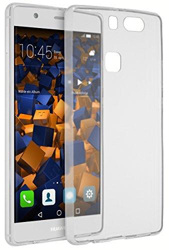 mumbi Hülle kompatibel mit Huawei P9 Plus Handy Case Handyhülle dünn, transparent