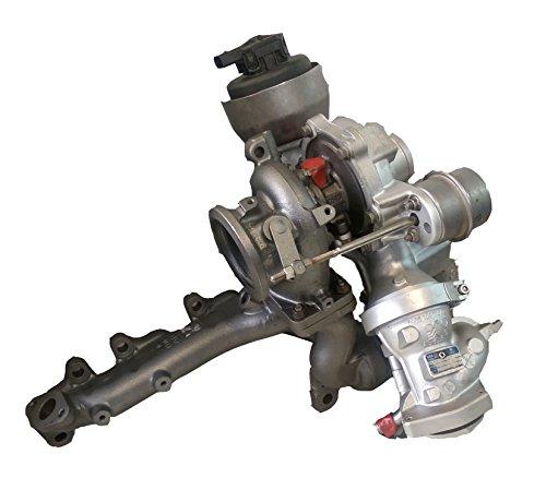 Turbolader aufgearbeitet KKK R2S KP35+ K04/Turbo der OE Nr. 1000–970–0102Fahrzeug OE Nr.: 03l145715g