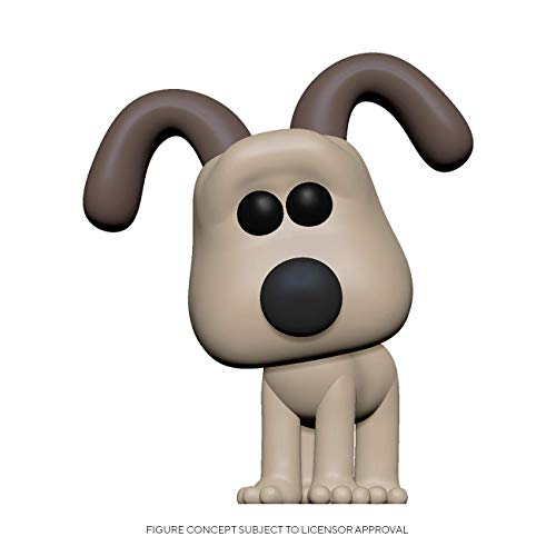 Funko- Pop Animation: Wallace & Gromit-Gromit Figura Coleccionable, Multicolor (47694)