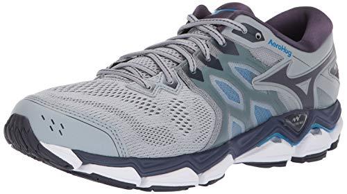 Mizuno Men's Wave Horizon 3 Running Shoe, Quarry-Graphite, 9 D US