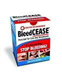 Bleedcease First Aid for Cuts and Nosebleeds Sterile Packings, 25 Count