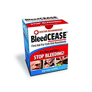 Corona Virus protection products Bleedcease First Aid for Cuts and Nosebleeds Sterile Packings,