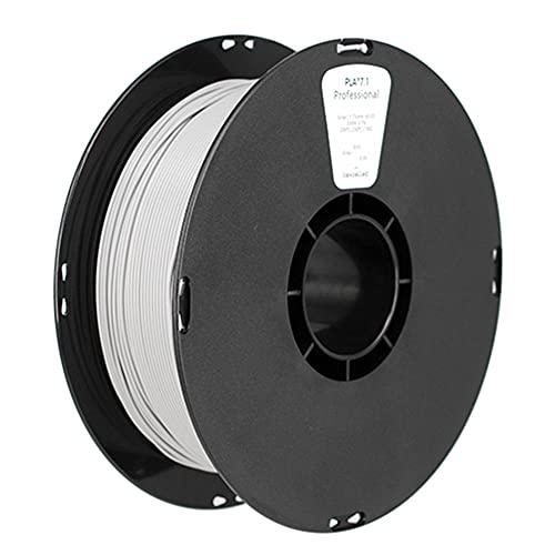 3D Printer Filament, PLA K6 Filament, Enhanced Toughness, High Strength, 1.75mm or 3.0mm, 1kg Spool-gray_3.0mm
