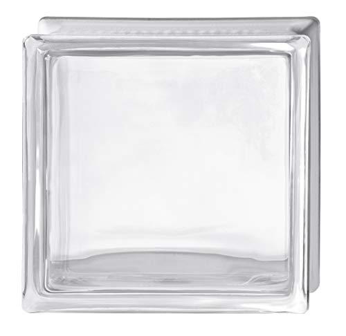 Glas glatt transparent Pure Neutral Clearview cm 19x19x8-6 Stück
