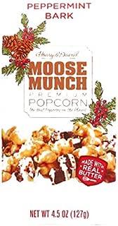 Harry & David Peppermint Bark Moose Munch Popcorn 8 oz each (1 Item Per Order, not per case)