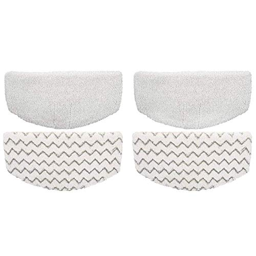 Ximoon Replacement 4 Steam Mop Pads Replacements for Bissell PowerFresh 1940 1440 1544 Series; Model 19402, 19404, 19408, 1940A, 1940Q, 1940T, 1940W