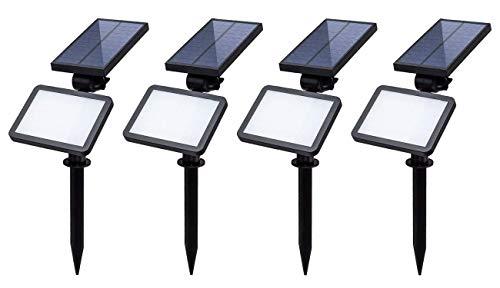 Luz Solar LED Exterior Con Sensor de Movimiento 960 Lumens, Foco Solar con...