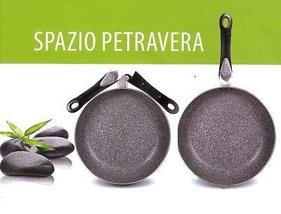 Bialetti Spazio Petravera - Sartén (aluminio, 50 x 40 x 5 cm), color