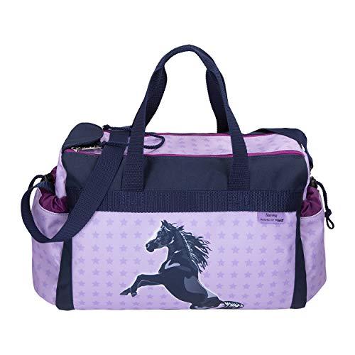 Stormy - Pferd - McNeill Schulsporttasche Sporttasche Schwimmtasche mit NASSFACH Freizeittasche Kindertasche